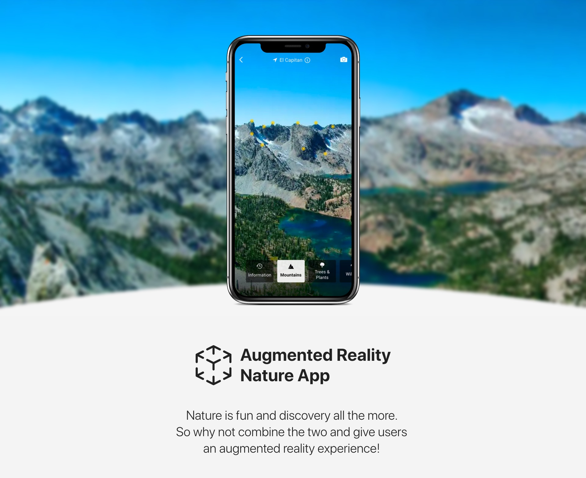 Augmented Reality Nature App 01