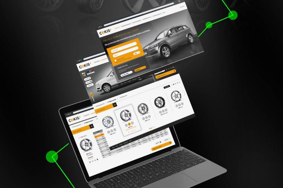 Continental Räder-Konfigurator für den Reifenhandel