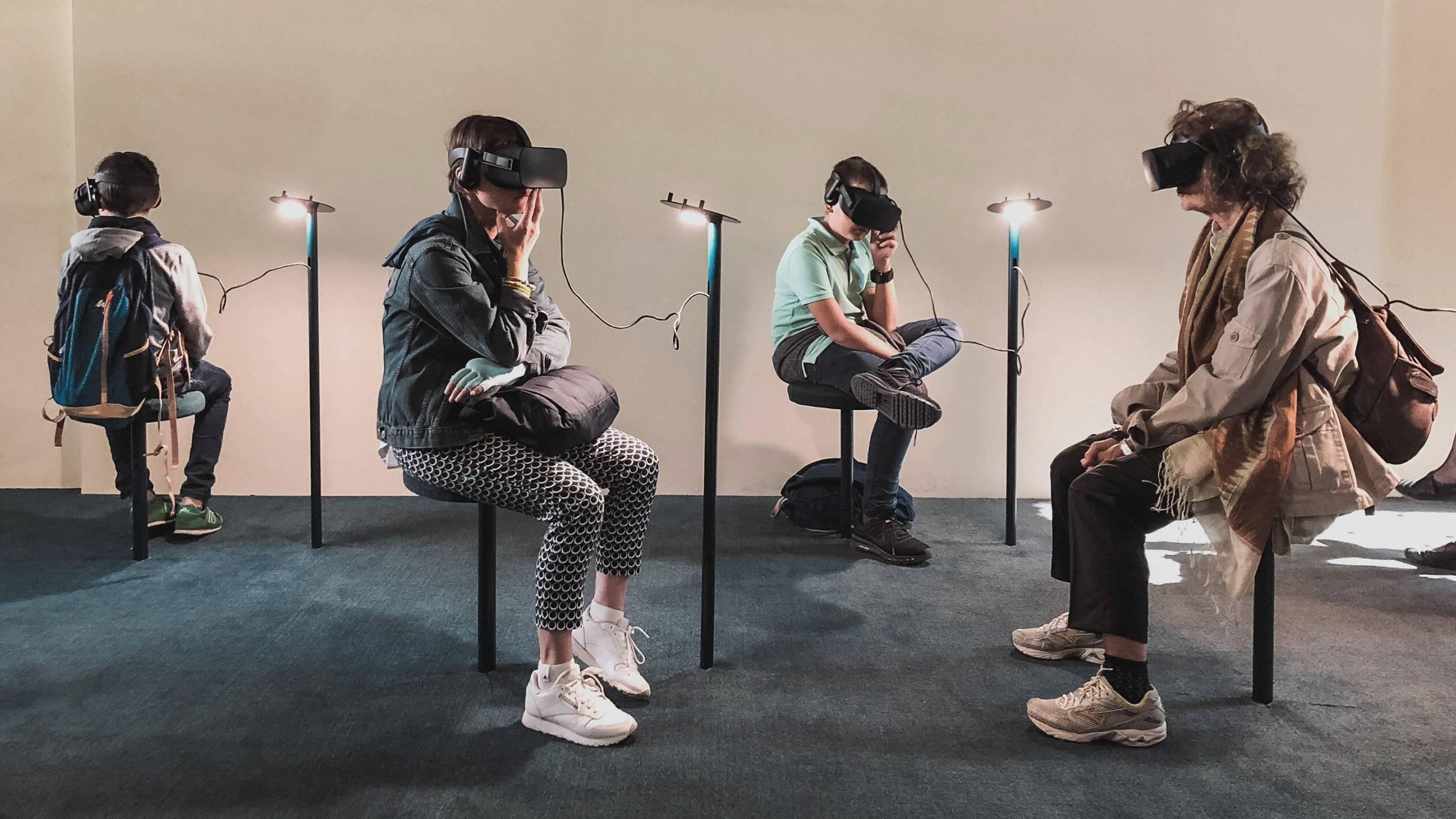 Virtual Reality-Ausstellung