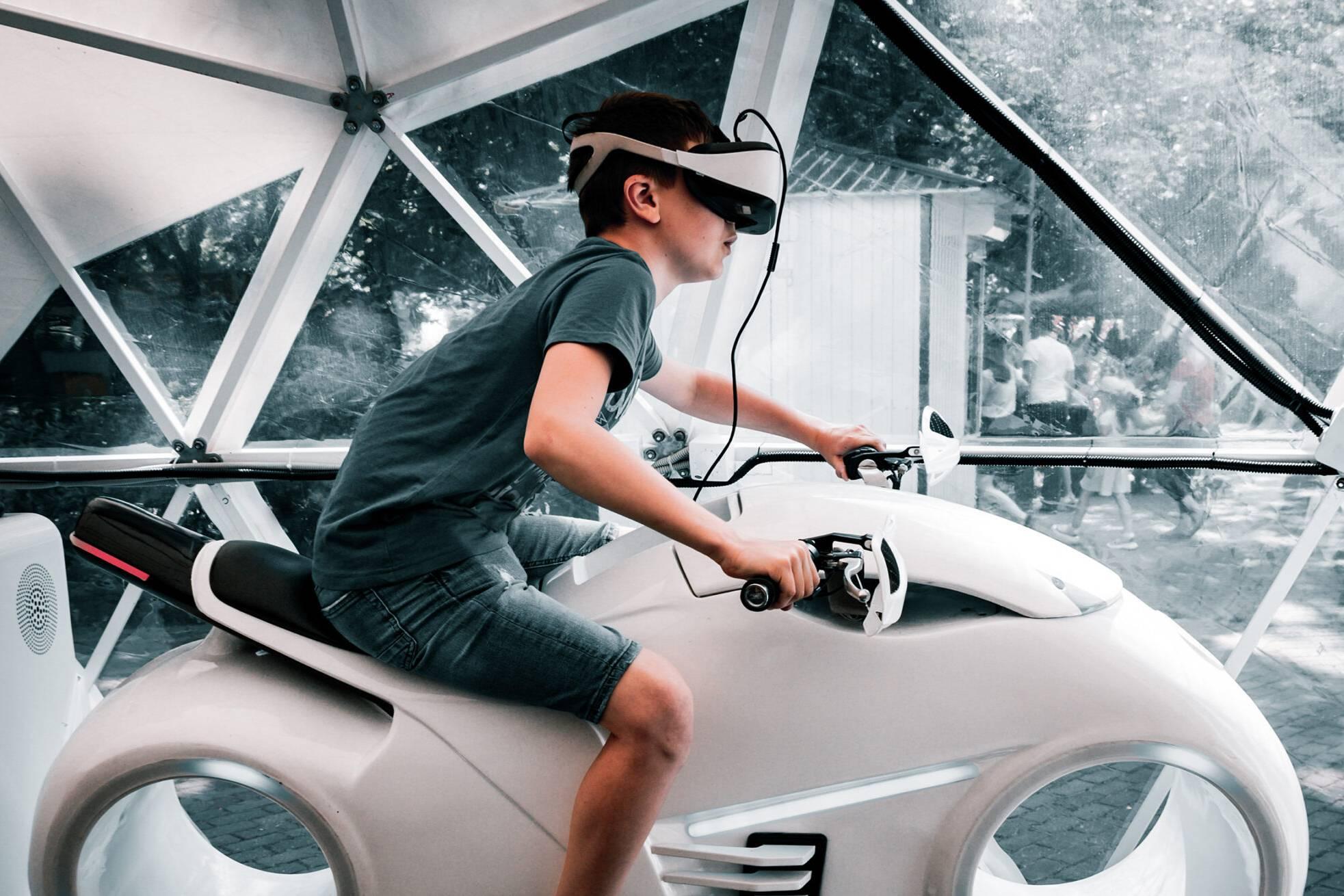 Einsatz von Virtual Reality Messe-Erlebnis