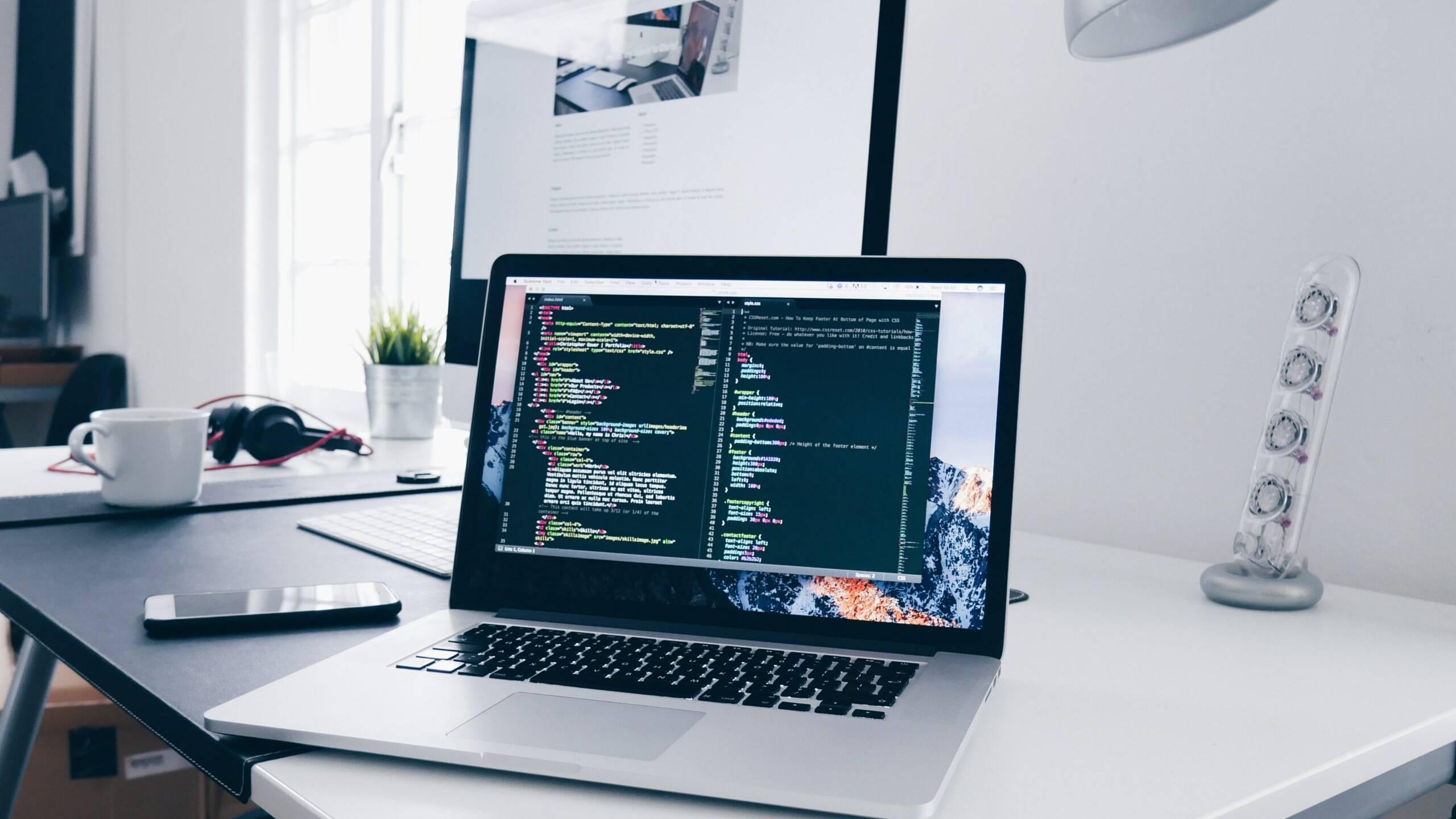 Work-computer-code