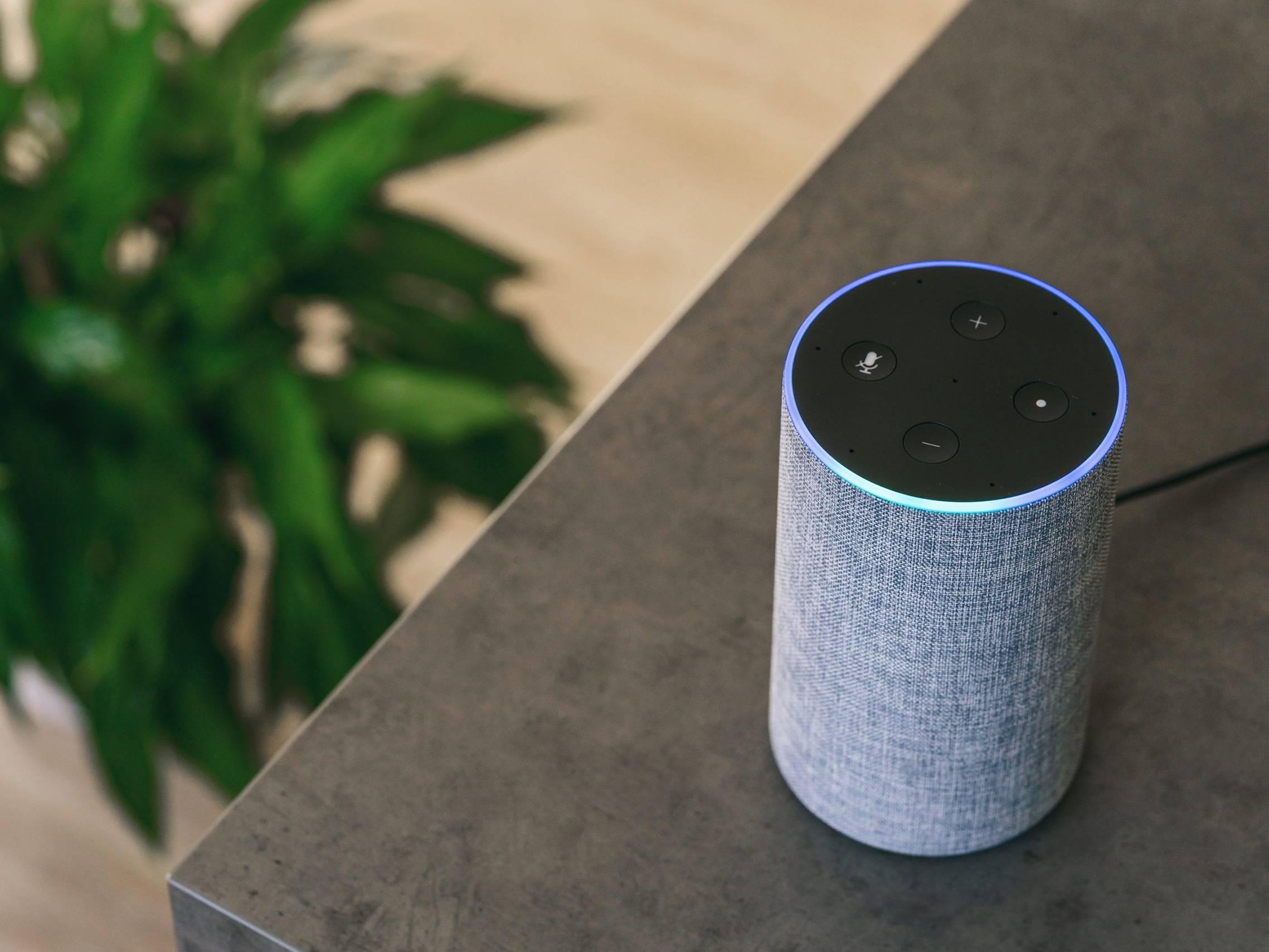 Amazon Echo smart speaker DMG