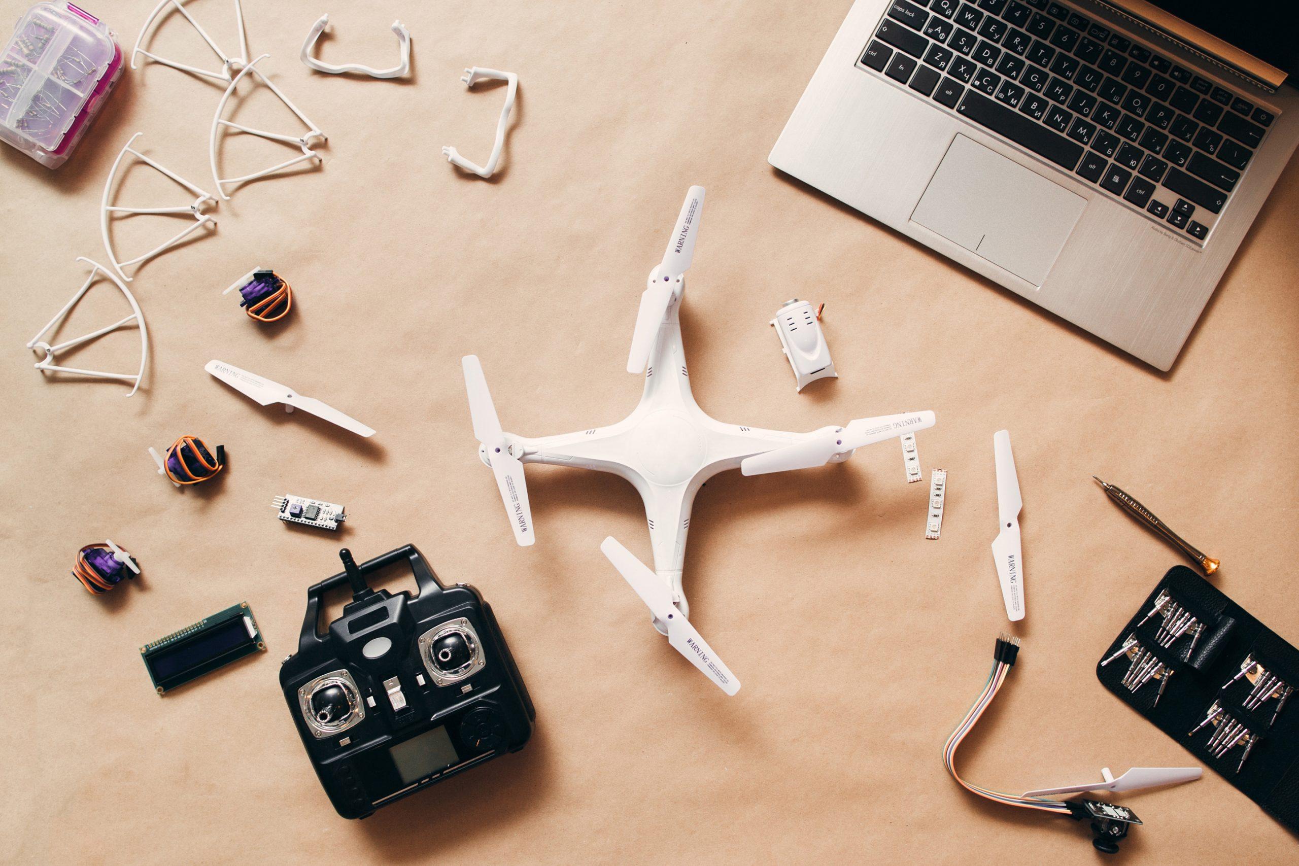 Drohnenmontage IoT